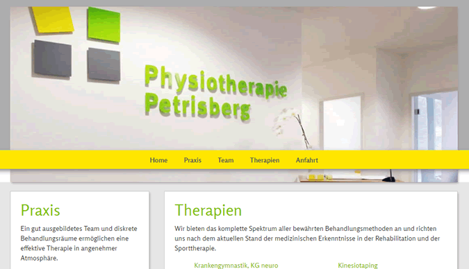 Physiotherapie Petrisberg