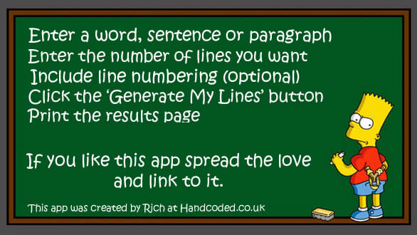 Repeat Text Generator - Repeat typed word, sentence or phrase